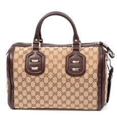 Gucci 'Techno Tag' Medium Boston Bag
