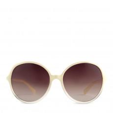 Miu Miu White Round Sunglasses SMU13L 01