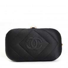 Chanel Black Vintage Clutch 04
