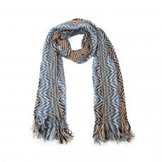 Missoni Chevron Knit Scarf 01