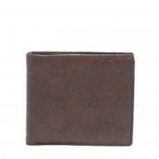 Gucci Men's GG Guccissima Leather Bi-fold Wallet 01