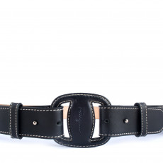 Salvatore Ferragamo Gancio Bit Leather Belt