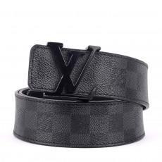 Louis Vuitton Damier Graphite Belt Size 36