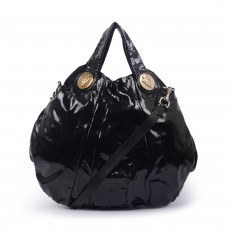 Gucci Patent Leather Hysteria Top Handle Bag 1