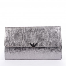 Emporio Armani Snake Embossed Clutch 1