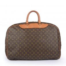 Louis Vuitton Monogram Alize 2 Compartment Luggage Travel Bag 11