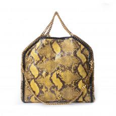 Stella McCartney Yellow/Black Faux Python Falabella Bag 1