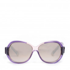 Balenciaga Purple Tinted Oversize Sunglasses BAL 0004/S