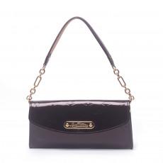 Louis Vuitton Amarante Monogram Vernis Sunset Boulevard Bag (01)