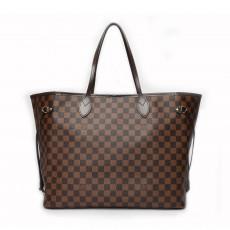Louis Vuitton Damier Ebene Canvas Neverfull GM Bag 01