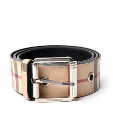 Burberry Grommet Nova Check Belt 01