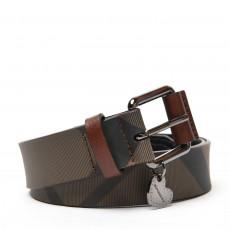 Burberry Brown Nova Check 'LovIt' Belt 01