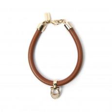 Coach Pave Signature C Leather Bracelet 01