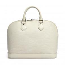 Louis Vuitton Ivorie Epi Leather Alma PM Bag 01