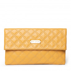 Marc Jacobs Baroque Eugenie Large Quilted Leather Clutch 01