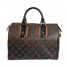 Louis Vuitton Limited Edition Noir Monogram Mirage Speedy 30 Bag 02