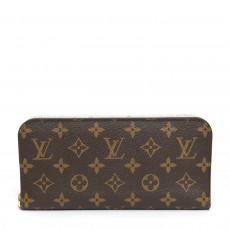 Louis Vuitton Monogram Canvas Fleuri Insolite Wallet 01