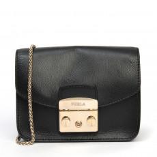 Furla Mini Metropolis Crossbody Bag, Onyx