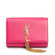 Saint Laurent %22Monogram Kate%22 Small Tassel Shoulder Bag  01