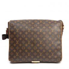Louis Vuitton Monogram Canvas Abbesses Messenger Bag (02)