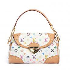 Louis Vuitton Multicolore Beverly MM Shoulder Bag  (01)