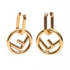 Fendi F is Fendi Gold Earrings (05)