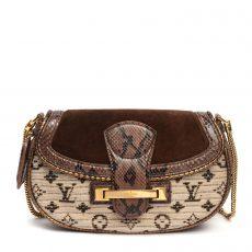 Louis Vuitton Limited Edition Marron  Monogram Empire Levant Bag (01)