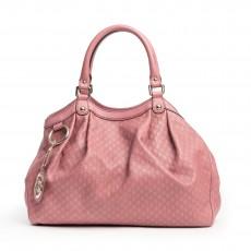 Gucci Rose Microguccissima Leather Medium Sukey Tote (02)
