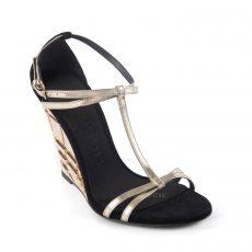 Burberry 'Hayfield' Wedge Sandals