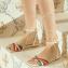 Christian Louboutin Multicolor Rainbow Ribbon Naseeba Latte Sandals (05)