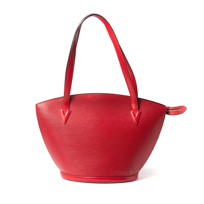 Louis Vuitton Red Epi Leather Saint Jacques GM Bag